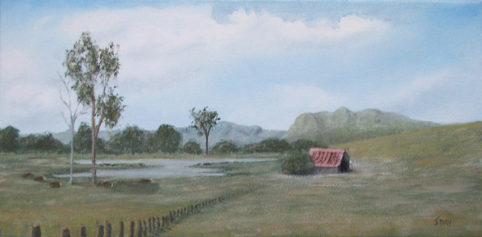 Down By The Old Shed (Sold)