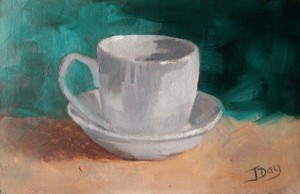 Simply A Cup and Saucer