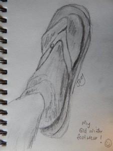 My Qld Winter Footwear
