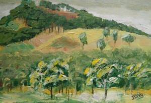 """""""Hillside"""" Daily Artwork No. 20"""